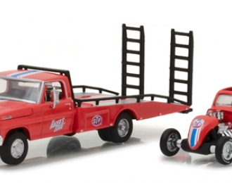 FORD F-350 Ramp Truck with Topo Fuel Altered STP 1968
