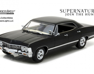"""CHEVROLET Impala Sport Sedan из телесериала """"Сверхъестественное"""" (1967), black"""