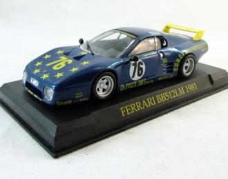 FERRARI 512BB Le Mans (1981), Ferrari Collection 51, blue