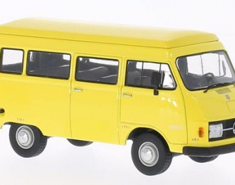 MERCEDES-BENZ 206 Bus (1970), yellow