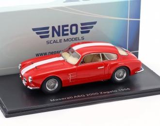 MASERATI A6G 2000 Zagato 1956 Red/White