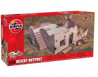 Сборная модель Пост в пустыне