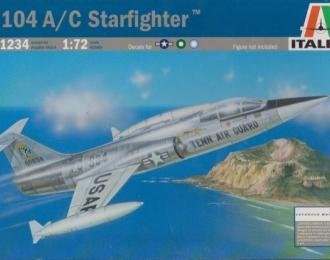 Сборная модель Американский истребитель-бомбардировщик Lockheed F-104A / C Starfighter