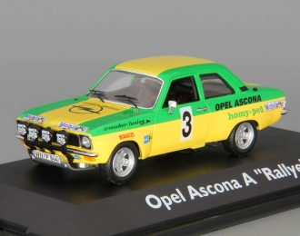 "OPEL Ascona A Rallye ""Irmscher Tuning"" #3, yellow / green"