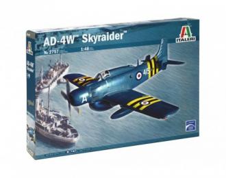 Сборная модель Самолет AD-4W Skyraider