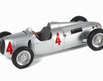 AUTO UNION Type C №4 1936, silver