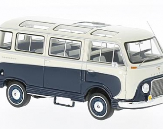 FORD Taunus Transit Panoramabus 1962 Dark Blue/White