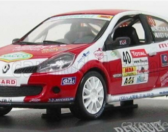 (Уценка!) Renault Clio R3 Rallye de Charbonnieres #40, red