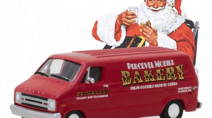 "DODGE B-100 Van ""Percevel Mobile Bakery"" 1977"