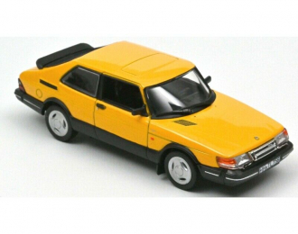 SAAB 900 Turbo 16 1992 Yellow