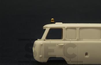 Проблесковый маяк LBS-5 «Elektra» (желтый), комплект 2 шт