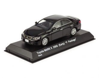 "TOYOTA Mark X 250G Early ""F Package"", black"