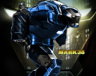 Сборная модель Iron Man 3 - Mk.XXXVIII - Igor Armor