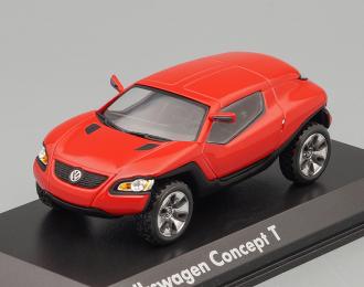VOLKSWAGEN Concept T, red