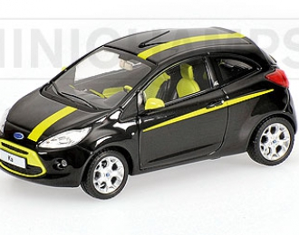 FORD Ka (2009), black metallic