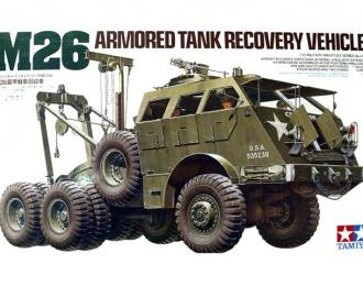 Сборная модель Амер.танк.бронир.машина ремонта М26+6 солд.