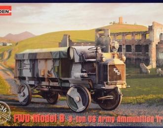 Сборная модель Американский армейский грузовой автомобиль FWD Model B 3-ton (подвозчик боеприпасов)
