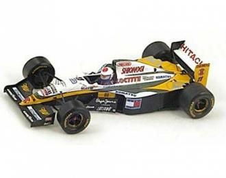 LOTUS 109, 11, European GP 1994 Eric Bernard, yellow