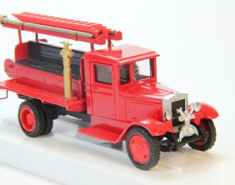 ЗИS-5 ПМЗ-6 с передним насосом (короткобазный), красный