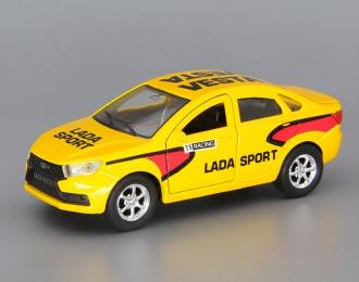 LADA Vesta Sport, yellow