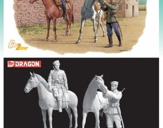 Сборная модель Немецкий донской казак  (Балканы 1944)