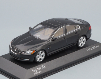JAGUAR XF (2007), black metallic