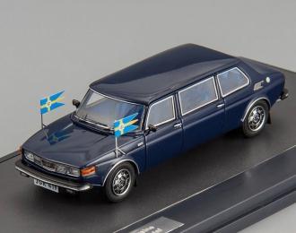 SAAB 99 Limousine HRH King Carl XVI Gustav (1976), blue