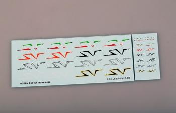 Декаль LP670 SV Logo