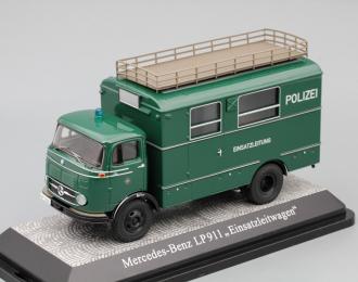 MERCEDES-BENZ LP911 Polizei Einzatzleitwagen, green