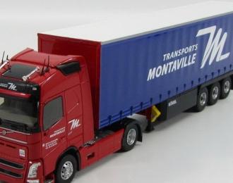 """VOLVO FH4 Globetrotter с полуприцепом """"TRANSPORTS MONTAVILLE"""" 2014"""