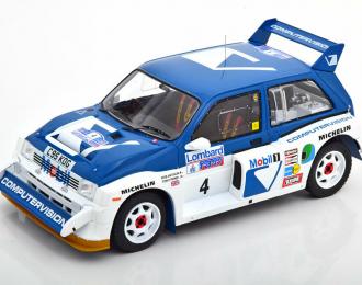 MG METRO 6R4 #4 T.Pond/R.Arthur RAC Rally (1986)
