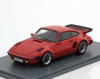 PORSCHE 930 Turbo SE Flatnose 1987 Red