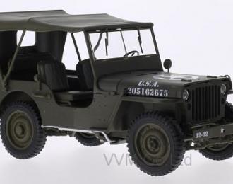 JEEP Willys 4x4 U.S.Army c тентом 1945 Matt Olive