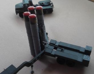 Сборная модель Зенитно-ракетный комплекс С-300 (на прицепе)