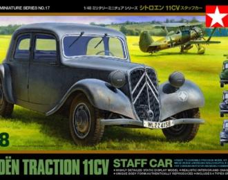 Машина Citroen Traction 11CV, 4 вар-та декалей (французские и немецкме)