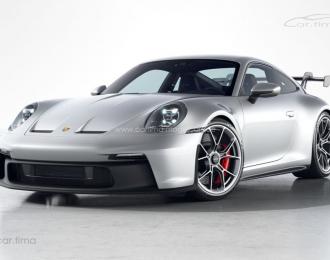 Porsche 911 (992) GT3 GT-silber