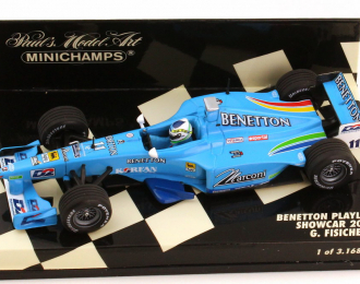 Benetton Playlife Showcar Formel 1 2000 #11 Giancarlo Fisichella