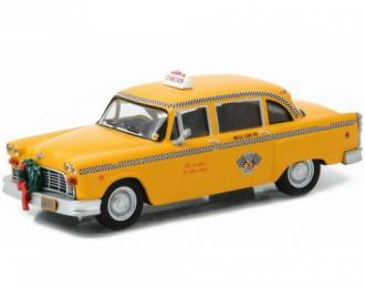 """CHECKER TAXI CAB 1978 (из к/ф """"Новая рождественская сказка""""), yellow"""