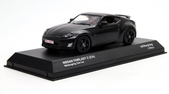 NISSAN Fairlady Z (Z34) Nurburgring Test Car, black