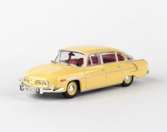 Tatra 603 - 1969 Žlutá Světlá 1:43 - Abrex - časopis s