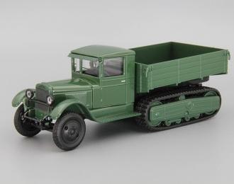 ЗиС-22 бортовой, зеленый