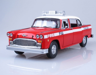 CHECKER A11 Chelsea Fire Engine (1981), red