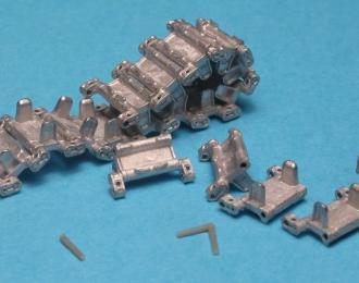 Траки наборные железные и ведущие звездочки для БМП-2