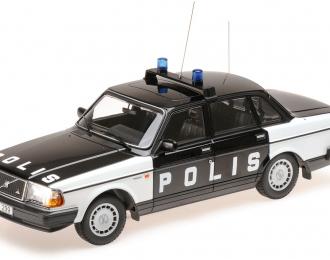 VOLVO 240 GL  1986  'POLIS SWEDEN'