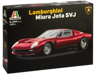 Сборная модель Lamborghini Miura JOTA SVJ