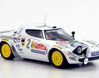 LANCIA Stratos HF No2 Winner Rally Sanremo Tony-M.Mannini (1979), white