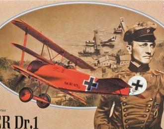 Сборная модель Немецкий истребитель Fokker Dr. I, Red Baron