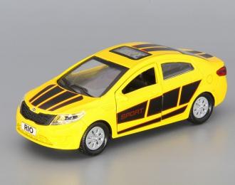 KIA Rio Sport, yellow