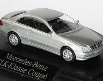 Mercedes-Benz CLK-klasse (C209) 2002 серебристый металлик