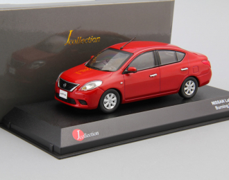 NISSAN TIIDA/LATIO, burning red
